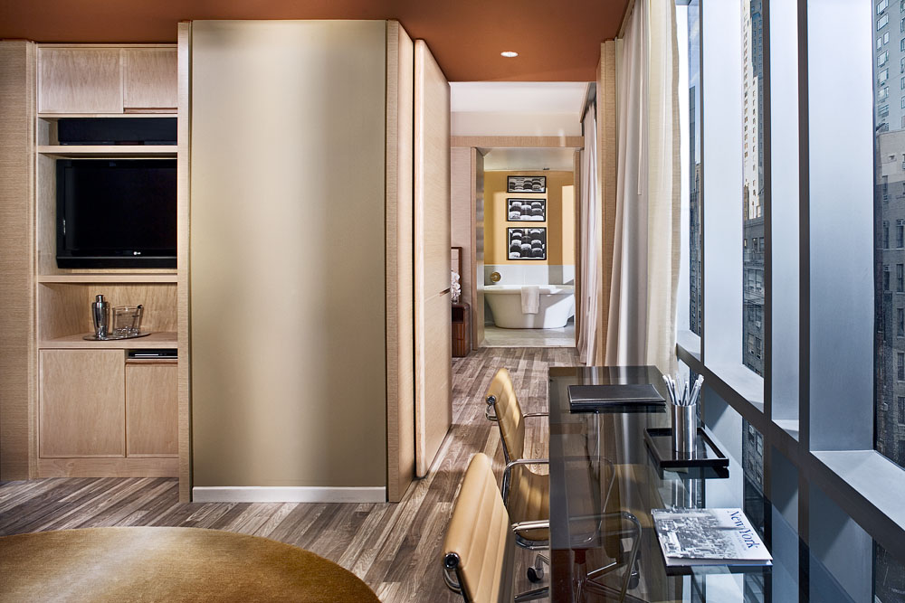 bmp HGVC NYC One bedroom Hallway