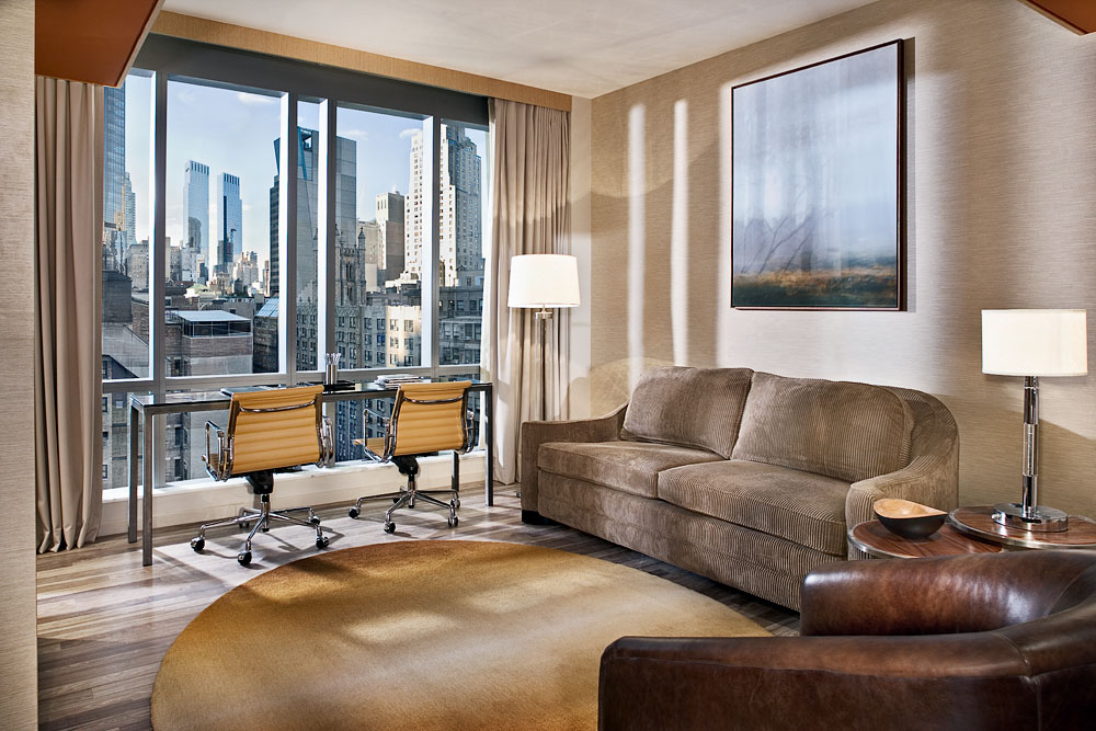 bmp HGVC NYC One bed Living Room w/view